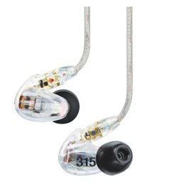 Shure SE315 Sound Isolating Earphones / Clear