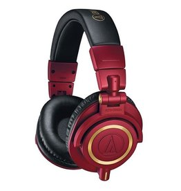 Audio Technica Audio Technica M50X Special Edition Red Headphones