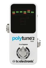 TC Electronics Polytune 2 Mini (White)