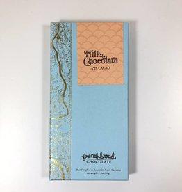 French Broad Chocolates FBC Milk Chocolate Bar