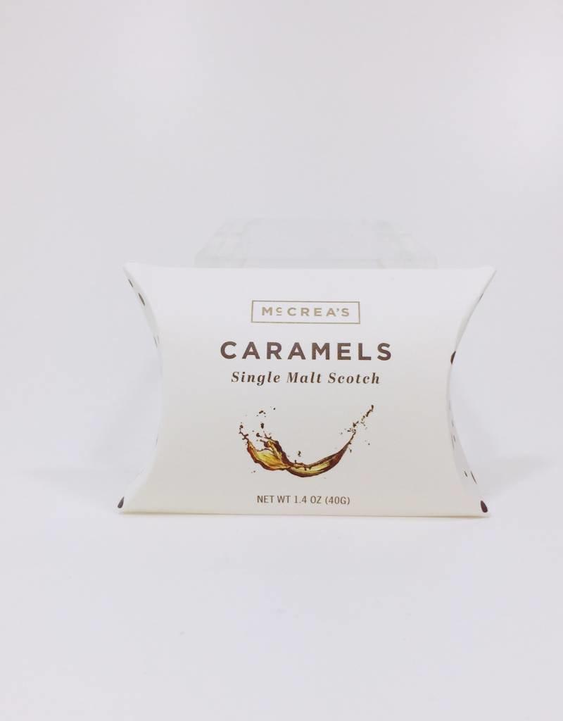 McCrea's Caramels McCrea's Candies Single Malt Scotch Pillow Box