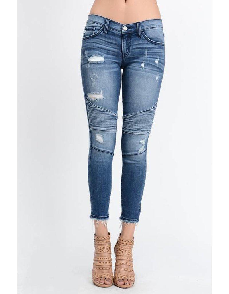 Kancan Motto jeans denim