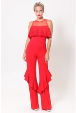 VALENTINE Pleat detailed jumpsuit