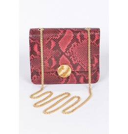 BAG BOUTIQUE Animal print clutch