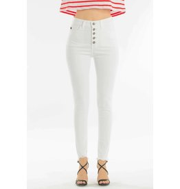 Kancan Five pocket super skinny white