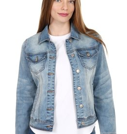 SEXY COUTURE Cropped denim  jacket
