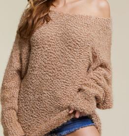 BIBI Popcorn sweater mocha
