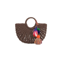 RETRO FASHION Straw trendy bag