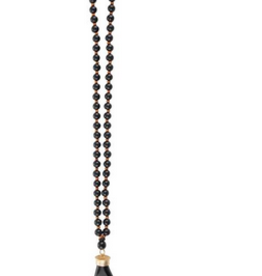 MAINSTREET COLLECTION Wooden horn necklace