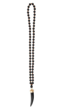 MAINSTREET COLLECTION Wooden tusk necklace