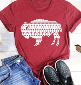 kissed Appereal Aztec print buffalo