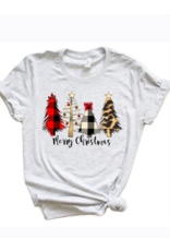 kissed Appereal Merry Christmas graphic tee