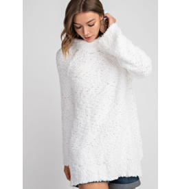 143 STORY Snow touched tunic sweater