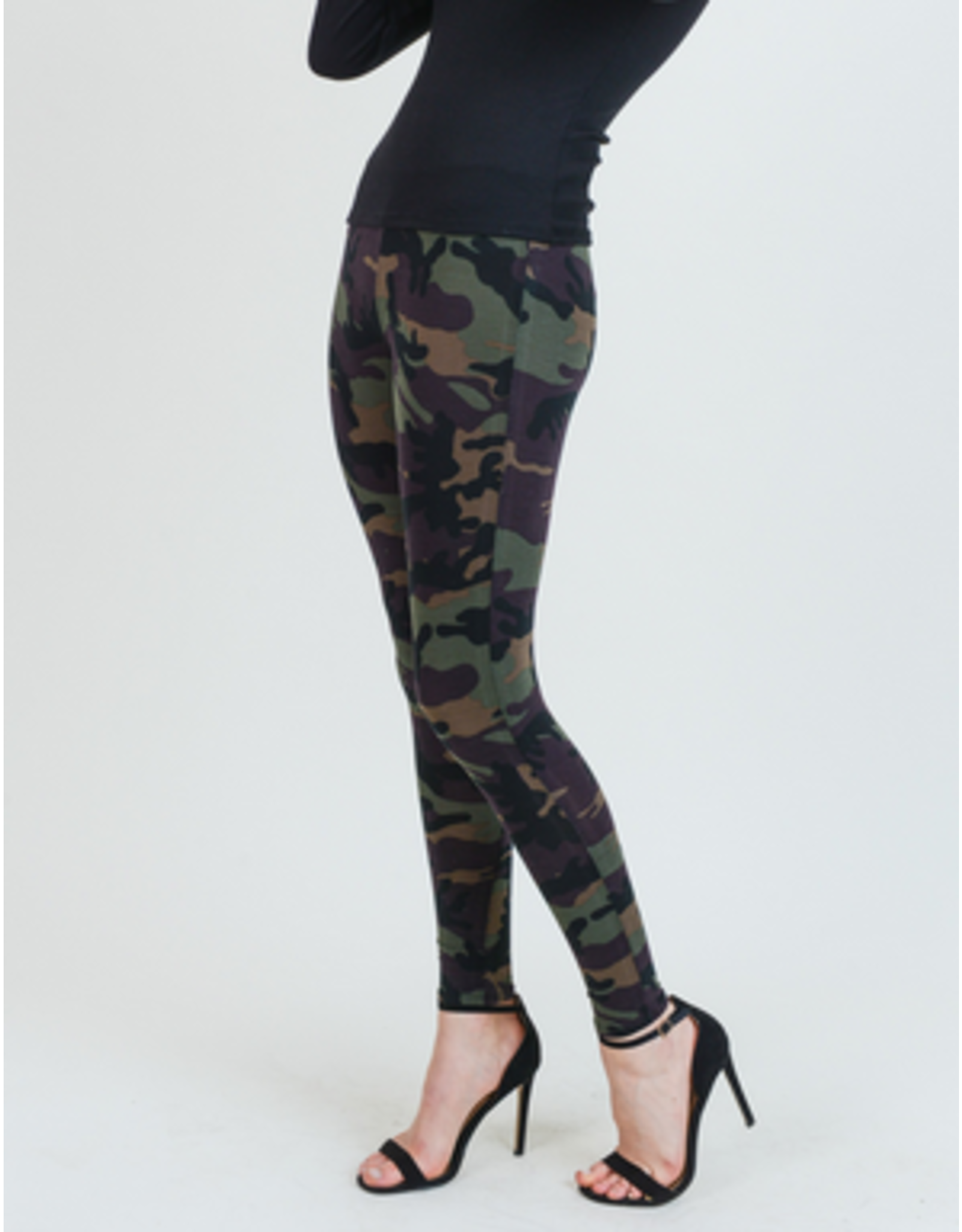 Printed Threads Camouflage print leggings