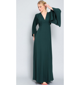 AAKAA Kimno long sleeve maxi dress