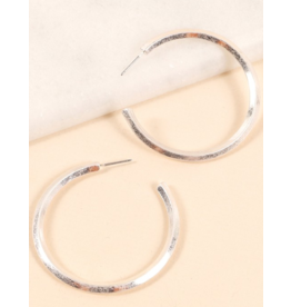 Avenue Zoe Metal open hoop earrings