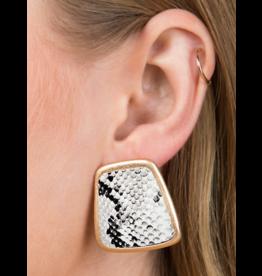 Urbanista Snake Print Earring