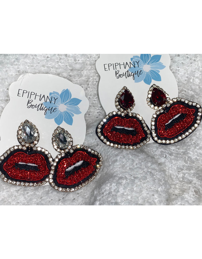 ILLord Bold lip earrings