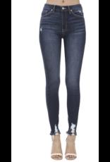 Kancan Kancan Jeans dark wash distressed