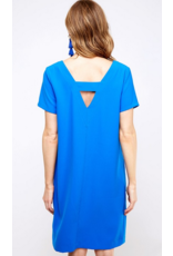 VINE AND LOVE Vneck shift dress with pockets