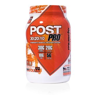 Muscle Elements POST PRO 15 SERV ORANGE CREAM POP