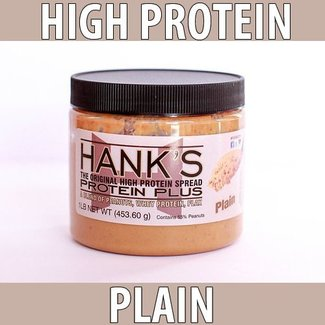 Hanks Protein Plus HANK'S PEANUT SPREAD PLAIN