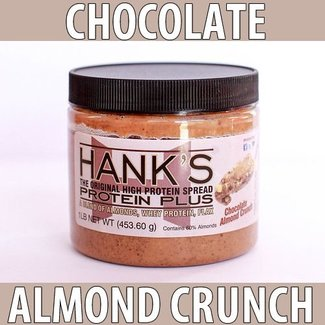Hanks Protein Plus HANK'S ALMOND SPREAD CHOCOLATE ALMOND CRUNCH