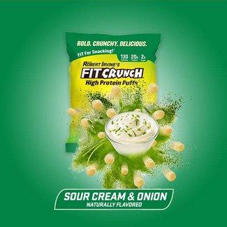 Fit Crunch FIT CRUNCH PUFFS SOUR CREAM & ONION