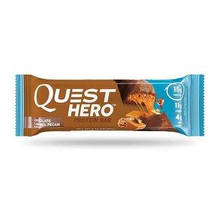 Quest QUEST HERO BAR CHOCOLATE CARAMEL PECAN