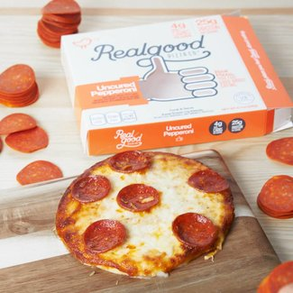 """Real Good REAL GOOD PIZZA Large 7"""" PEPPERONI"""