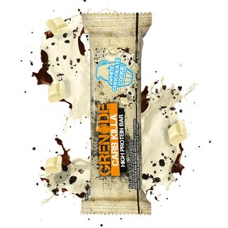Grenade Carb Killa White Chocolate Cookie Protein Bar