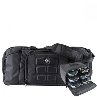 6 Pack Beast Duffle Black