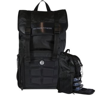 6 Pack Commuter Backpack-Stealth Black
