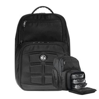 6 Pack Expedition 300 Backpack Stealth Black