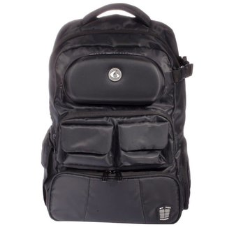 6 Pack Mach 6 Athletic Stealth Black Backpack