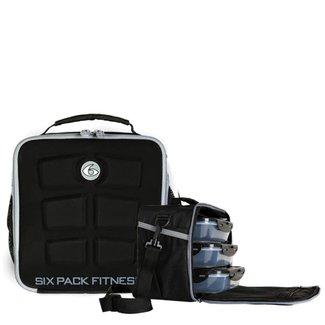 6 Pack The Cube Meal Management Stealth Black Bag