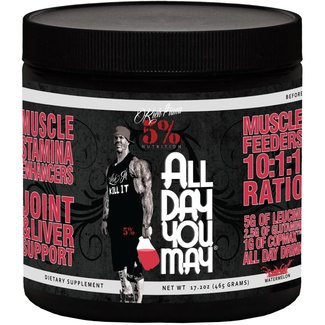 5% Nutrition All Day You May Caffeinated Watermelon 25 Servings