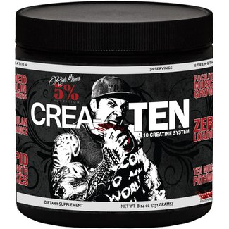 5% Nutrition CREATEN FRUIT PUNCH