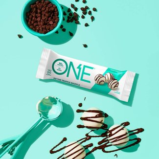 One Brand ONE BAR WHITE CHOCOLATE TRUFFLE