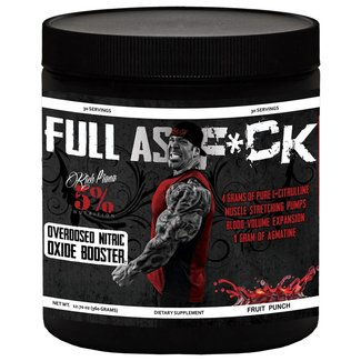 5% Nutrition Full As F*ck Fruit Punch 30 Servings