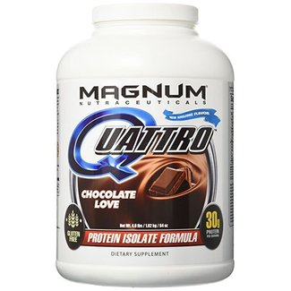 Magnum Nutraceuticals QUATTRO 4 LB Chocolate Love