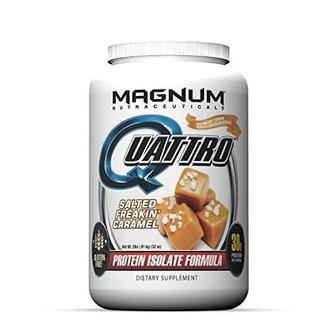 Magnum Nutraceuticals QUATTRO 2 LBS SALTED FREAKIN' CARAMEL