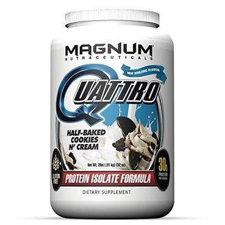 Magnum Nutraceuticals QUATTRO 2 LB Half-Baked Cookies N' Cream