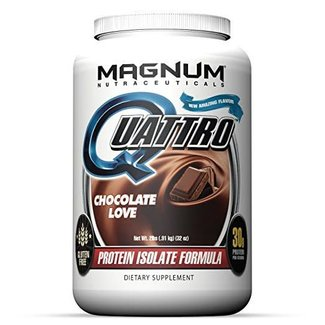 Magnum Nutraceuticals QUATTRO 2 LB Chocolate Love