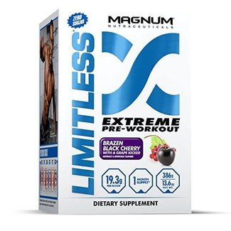 Magnum Nutraceuticals LIMITLESS Brazen Black Cherry with Grape Kicker
