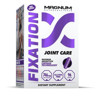 Magnum Nutraceuticals FIXATION Joint And Mobility Aid 96 Capsules