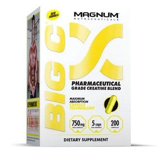 Magnum Nutraceuticals BIG C World's Strongest, Non-Water Retaining Creatine Capsule