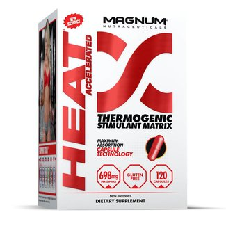 Magnum Nutraceuticals HEAT ACCELERATED Thermogenic Stimulant Matrix