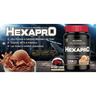 Allmax Nutrition HexaPro Chocolate 5.5Lb