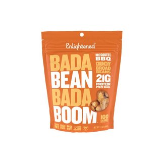 Enlightened Bada Bean Bada Boom Mesquite BBQ Bean Snacks 3 Oz